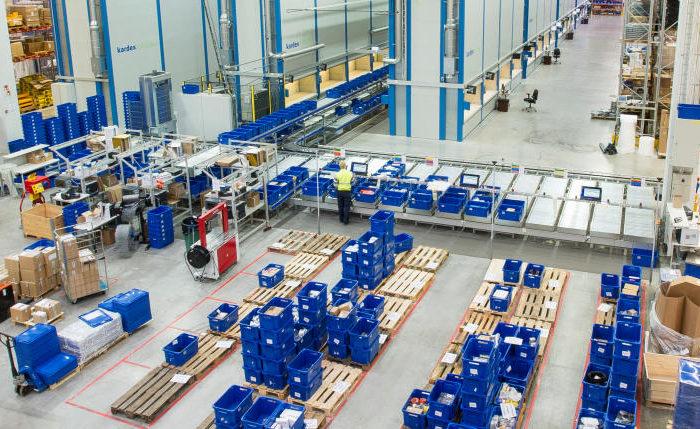 Expediční sklady a distribuční centra